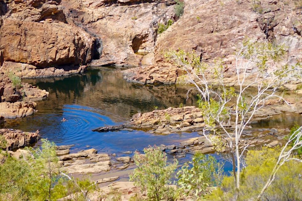 Edith Falls - Nebenpool beim Upper Pool lädt ebenfalls zum Baden ein - Nitmiluk National Park - Northern Territory