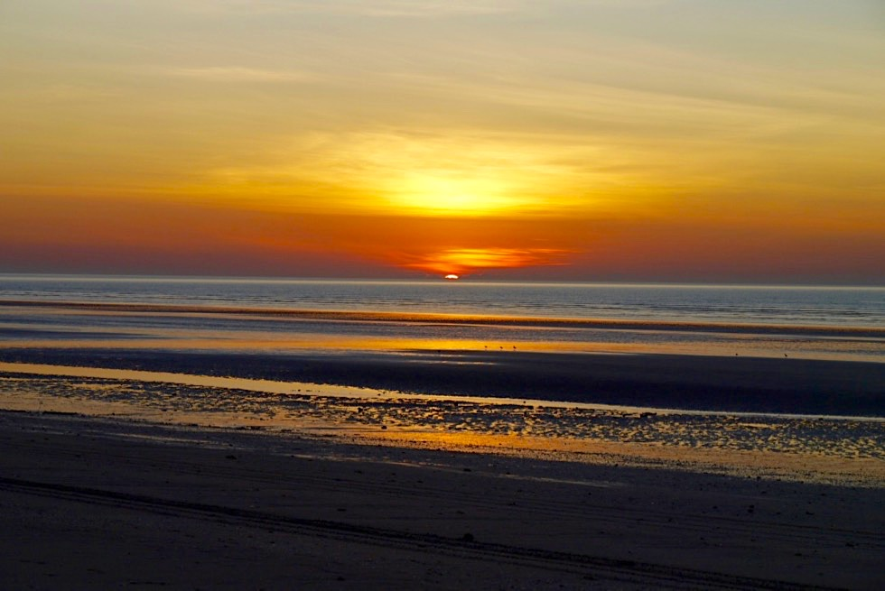 Eighty Mile Beach - Faszinierender Sonnenuntergang - Pilbara - Western Australia