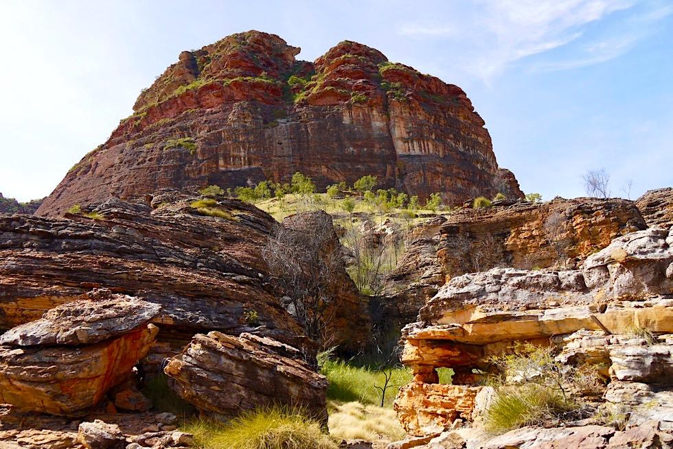 Atemberaubend schöne Kurzwanderung: Goorrandalng Walk - Keep River National Park - Northern Territory
