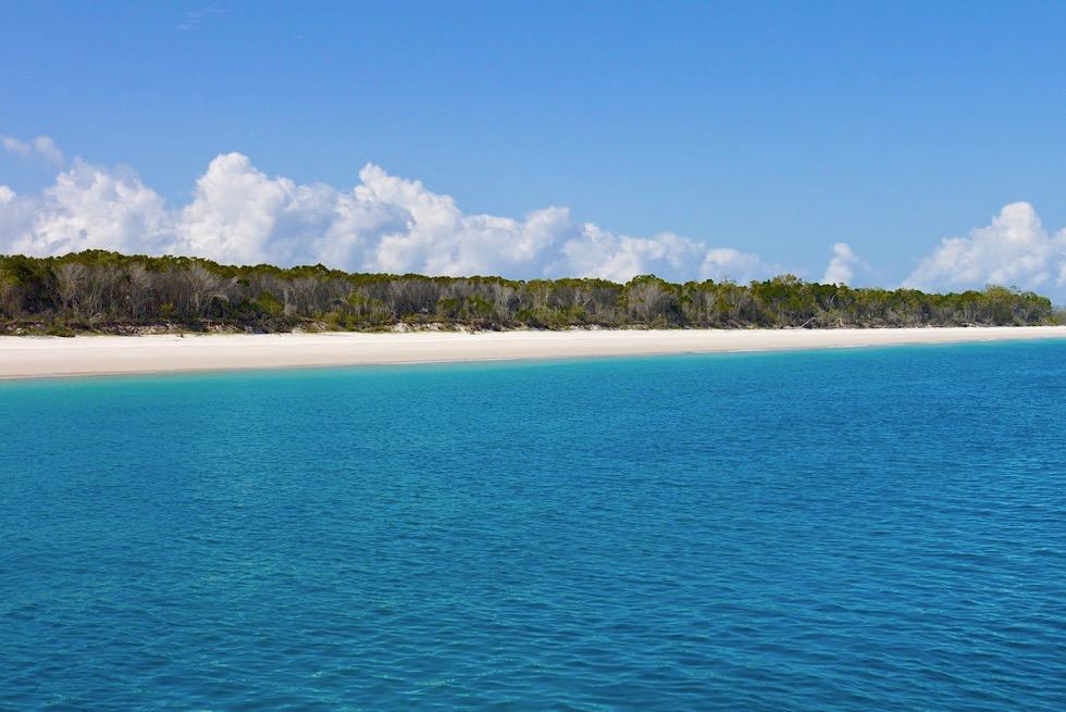 Hervey Bay - Ausblick auf Fraser Island: die größte Sandinsel der Welt - Queensland