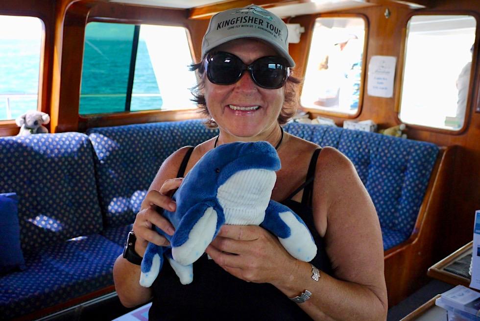 Hervey Bay - Walbeobachtung mit Garantie: Jeder wird einen Wal sehen! - Queensland