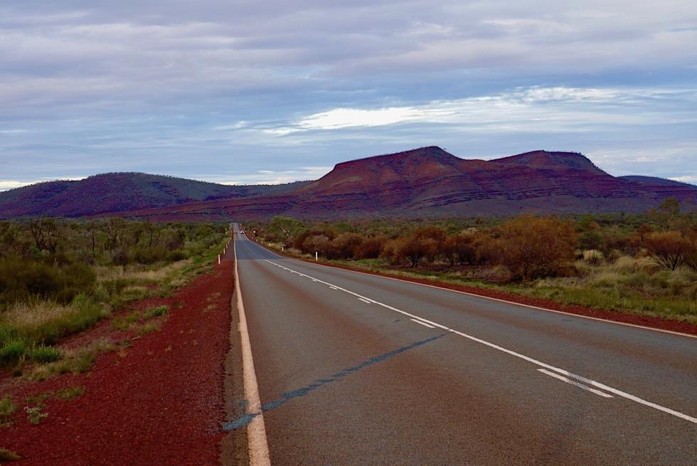 Karijini Drive zwischen Karijini West & Ost - Pilbara, Western Australia
