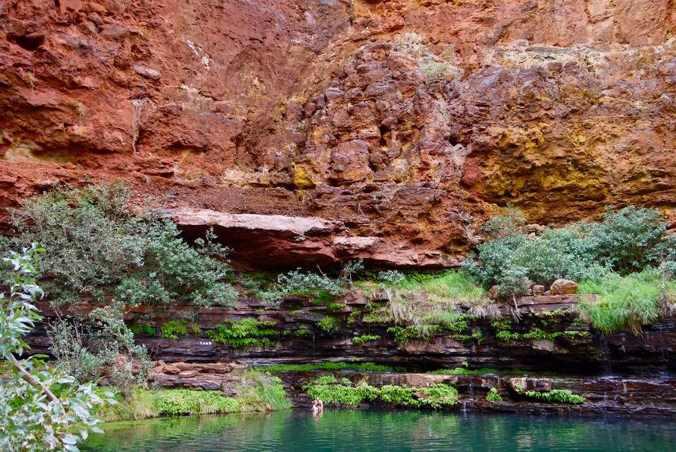 Karijini National Park - Zauberschön: Circular Pool - Pilbara, Western Australia