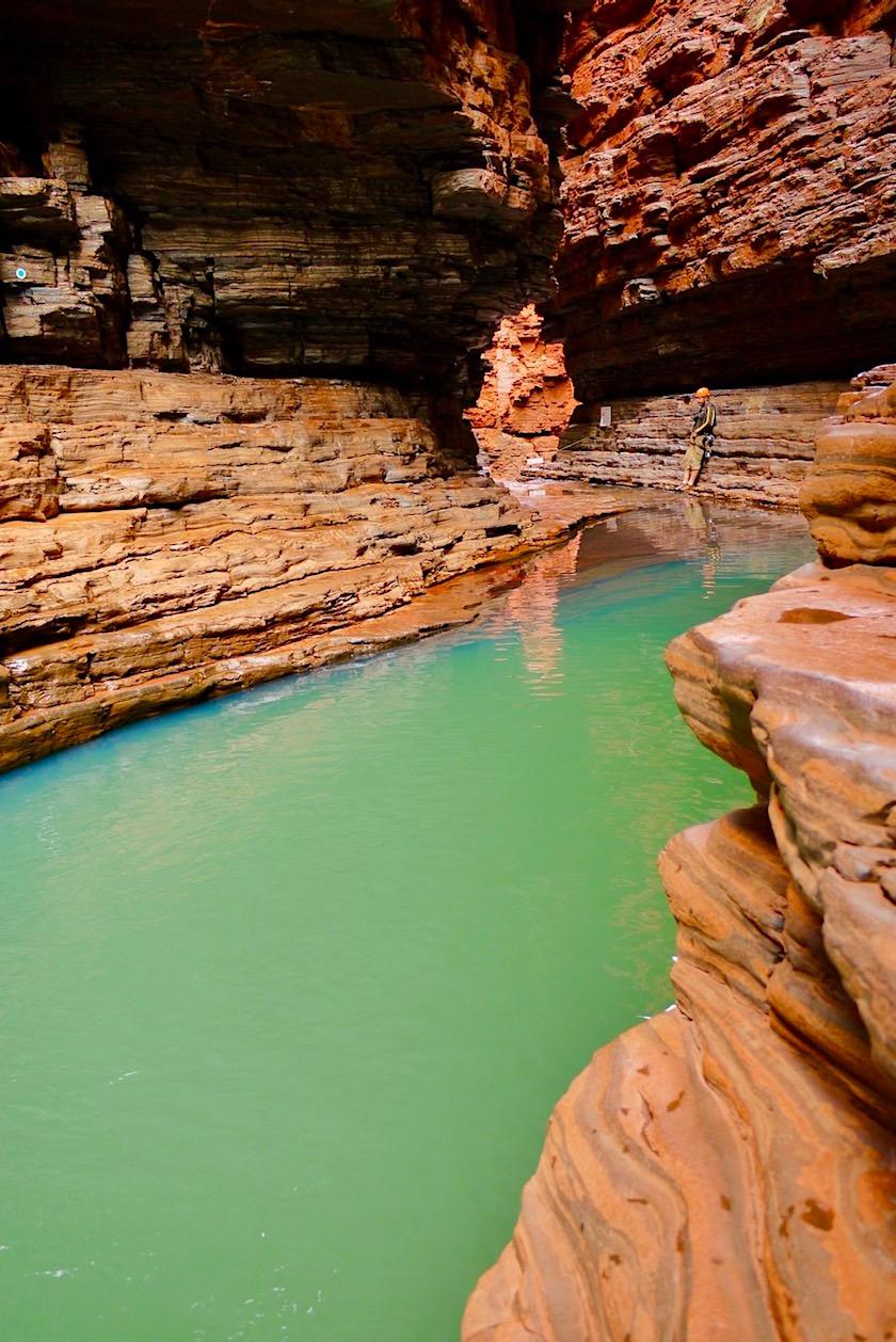 Karijini National Park - Faszinierend schöner Kermits Pool - Pilbara - Western Australia
