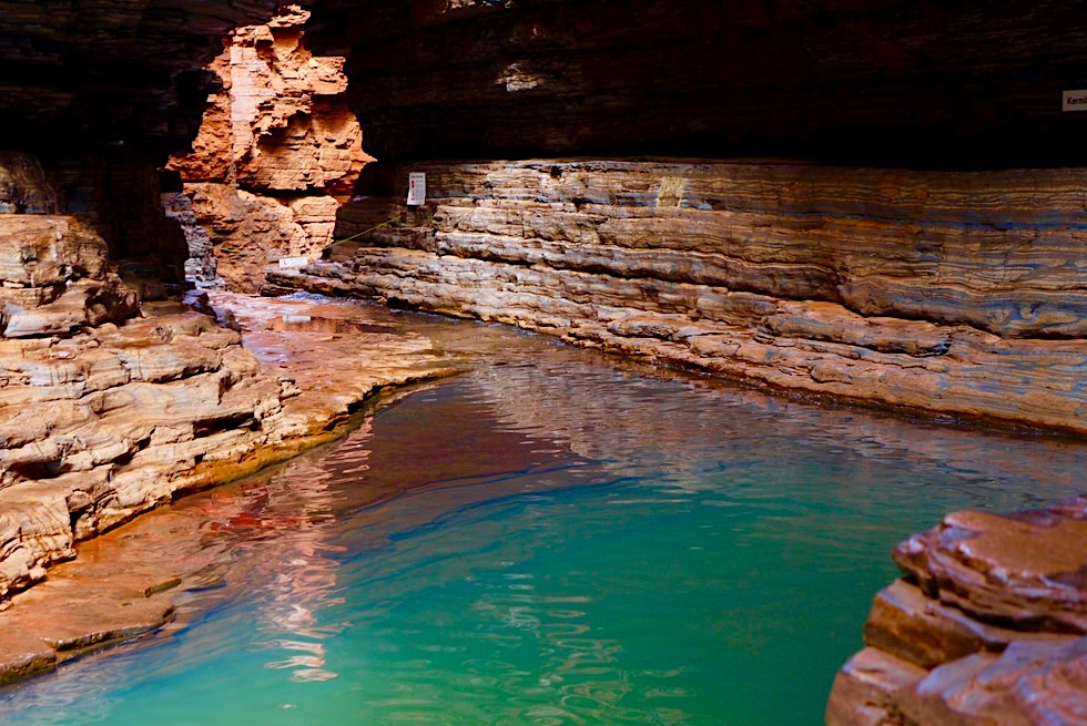 Karijini National Park - Spektakulär: Kermits Pool in der Hancock Gorge - Pilbara, Western Australia