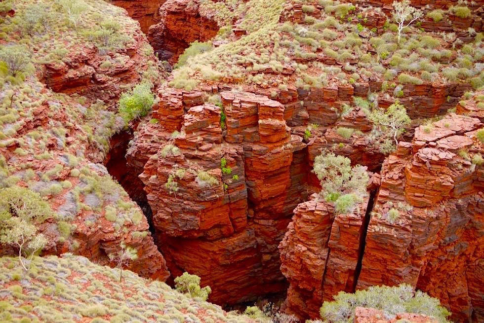 Karijini National Park - Westteil: Enge Schluchten - Pilbara, Western Australia