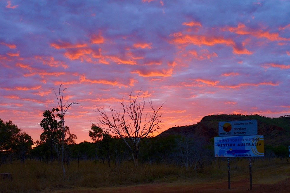 Keep River National Park liegt an der Grenze NorthernTerritory / Western Australia - Top End, Northern Territory