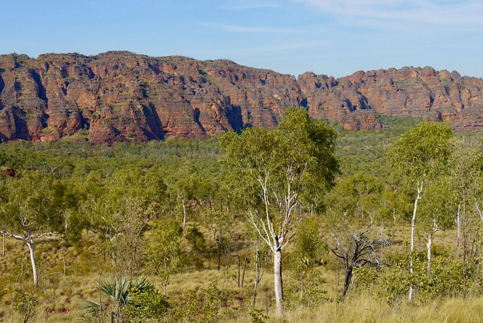 Geheimtipp Keep River National Park - Kelly's Knob Sandstein-Formationen oder die Bungle Bungles von Northern Territory