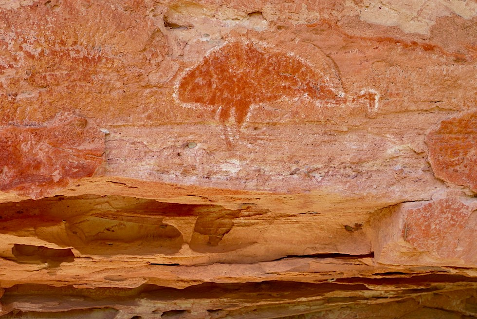 Keep River National Park - Nigli Gap: Aboriginal Malerei - Northern Territory