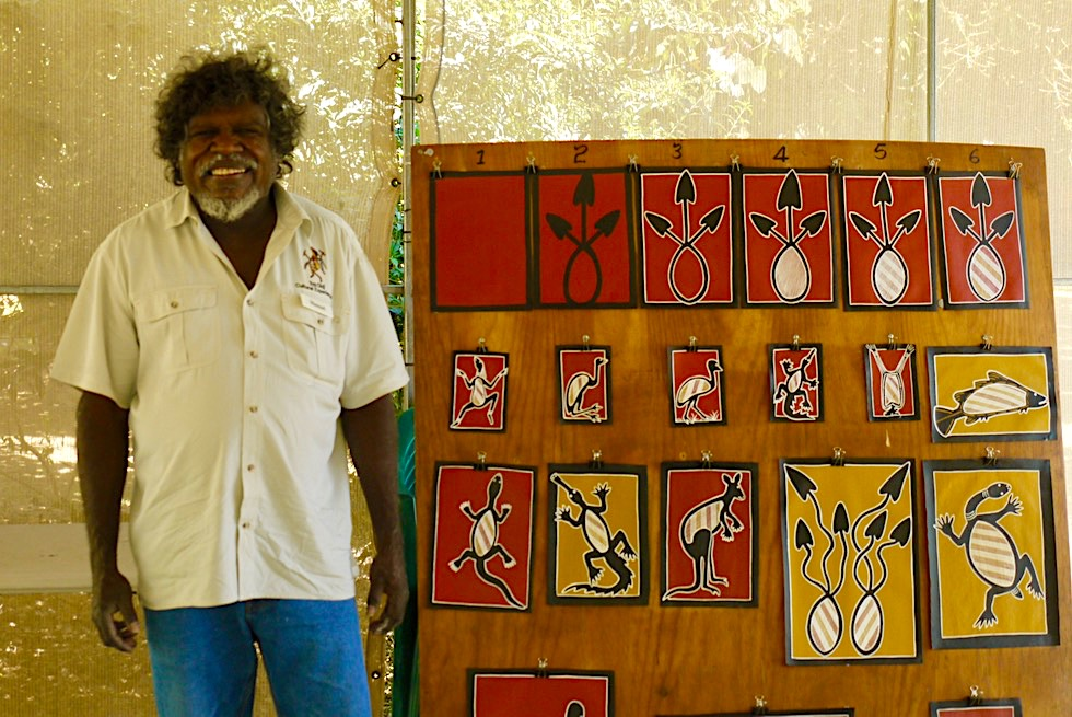 Top Didj Cultural Experience: Manuel erzählt von seiner Aboriginal Kultur - Katherine - Northern Territory