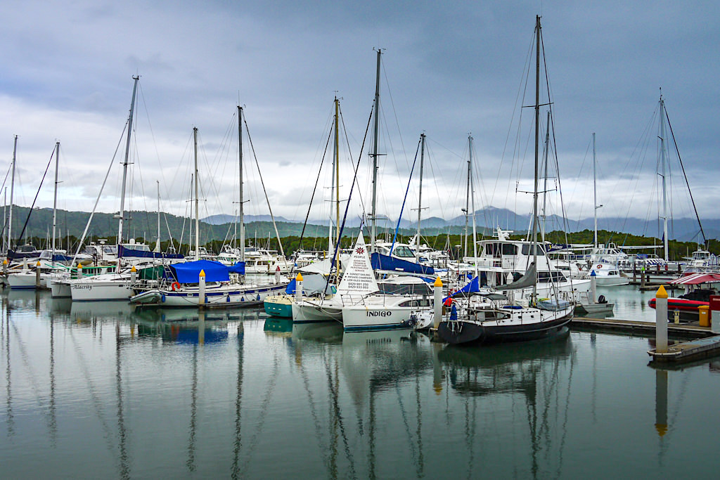 Port Douglas Tourismusort - Mondäner Hafen - Wet Tropics Queensland