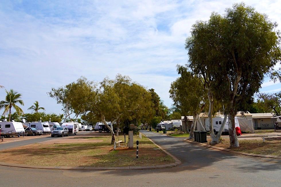 Schöne Stellplätze: Port Hedland Discovery Park Cooke Point - Pilbara - Western Australia