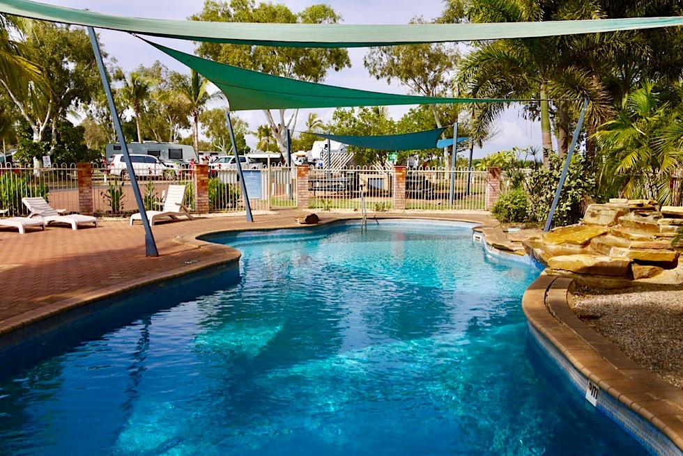Der schönste Caravan Park in Port Hedland: Discovery Park Cooke Point - Pilbara - Western Australia