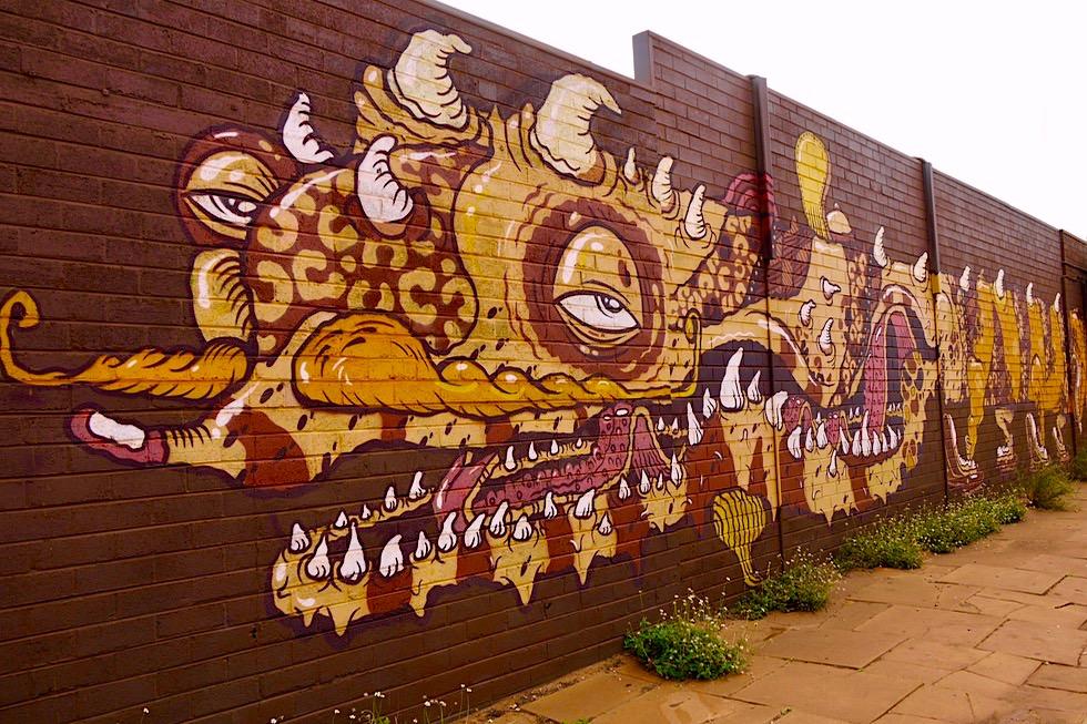 Port Hedland - Street Art von internationalen Künstlern - Pilbara - Western Australia