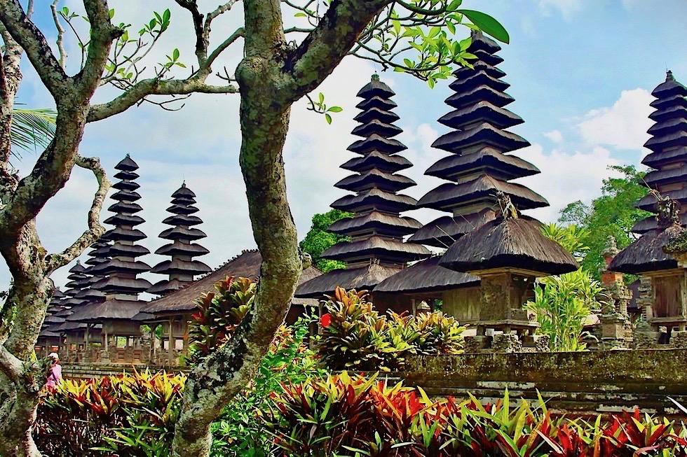 Pura Taman Ayun - Meru, Schreine, Pagoden: das Tempelinnere - Mengwi - Bali