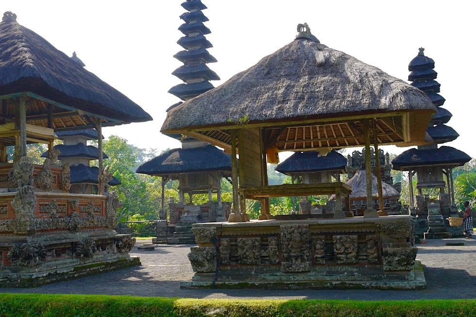Pura Taman Ayun - Blick auf Schreine & Pagoden im Tempelinnern - Mengwi, Bali