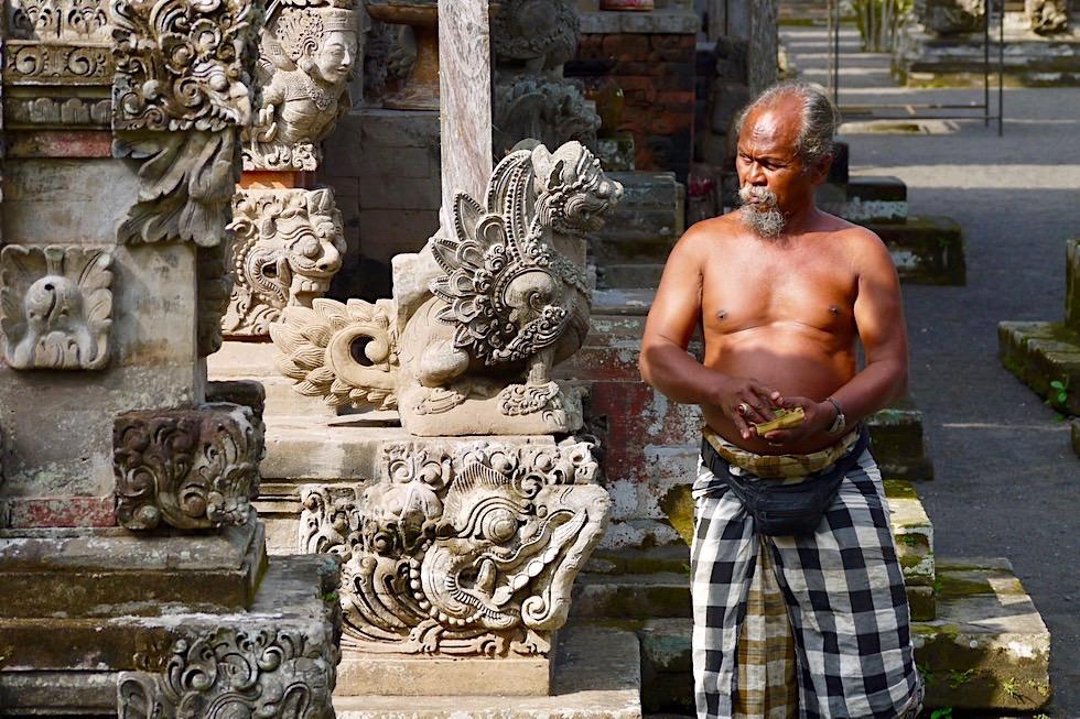 Pura Taman Ayun - Tempelwächter mit einer faszinierenden, energetischen Austrahlung - Mengwi, Bali