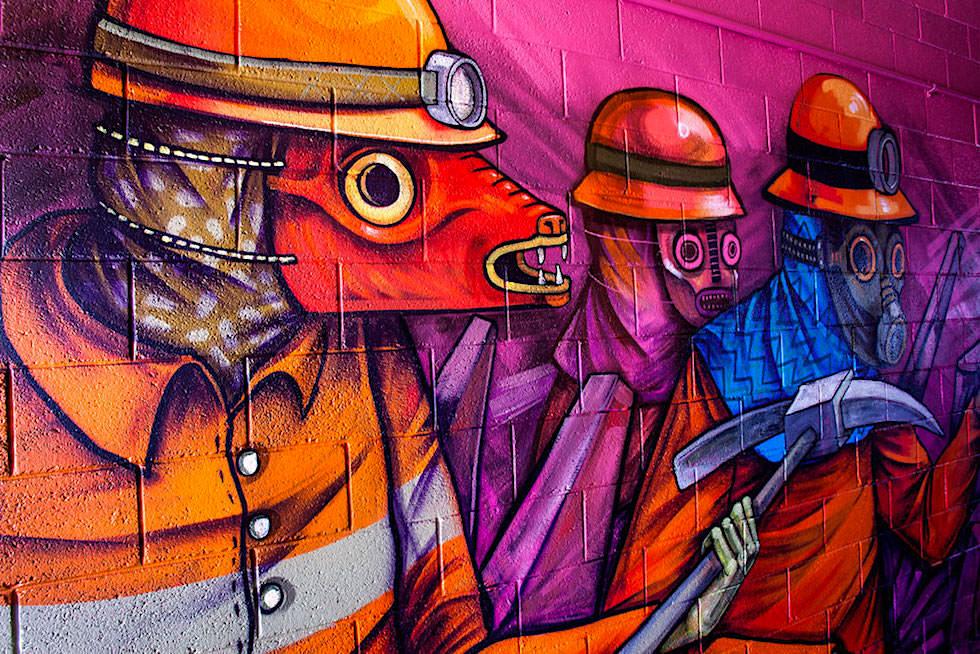 Saner Reel - Mexikanischer Street Art Künstler - Port Hedland - Pilbara - Western Australia
