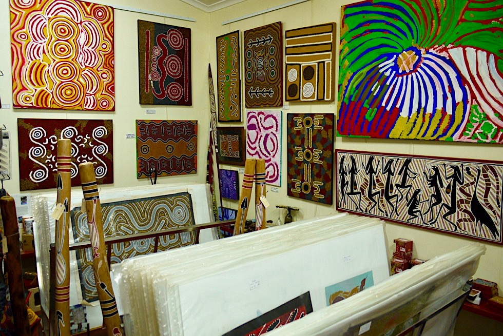 Lokale Künstler & Aboriginal Kultur erleben: Top Didj Cultural Experience & Art Gallery - Katherine - Northern Territory