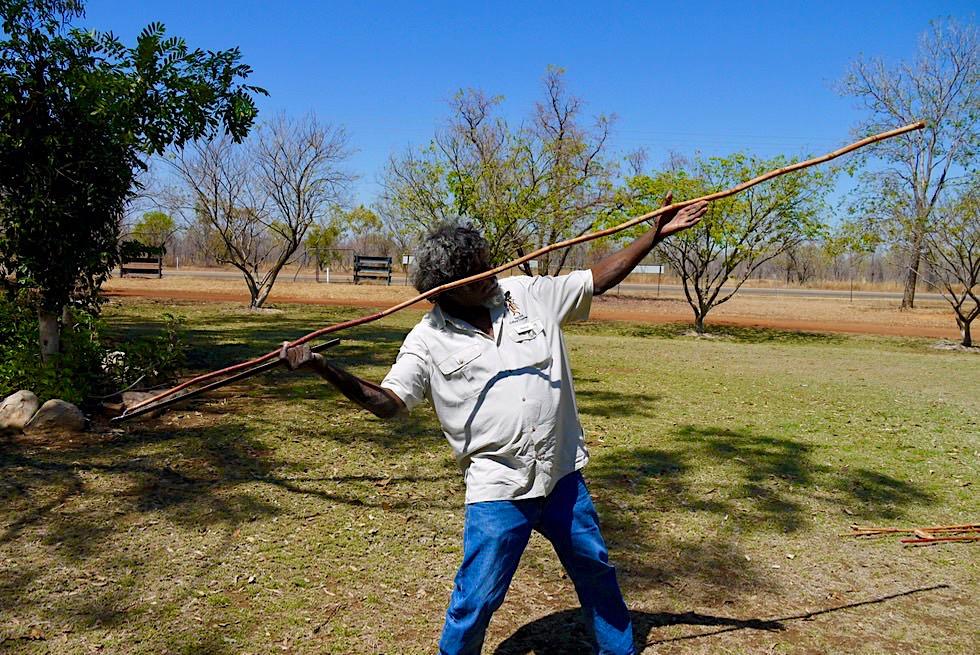 Top Didj Cultural Experience - Kunst des Speer oder Woomera Werfens - Katherine - Northern Territory