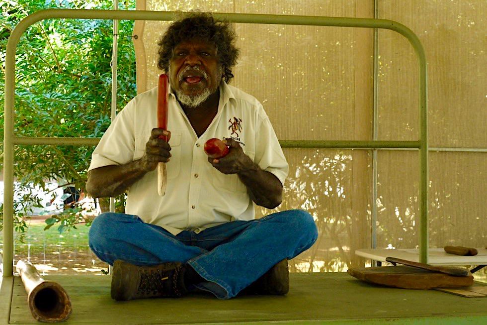 Top Didj - mit Manuel Aboriginal Kultur erleben in Katherine - Northern Territory