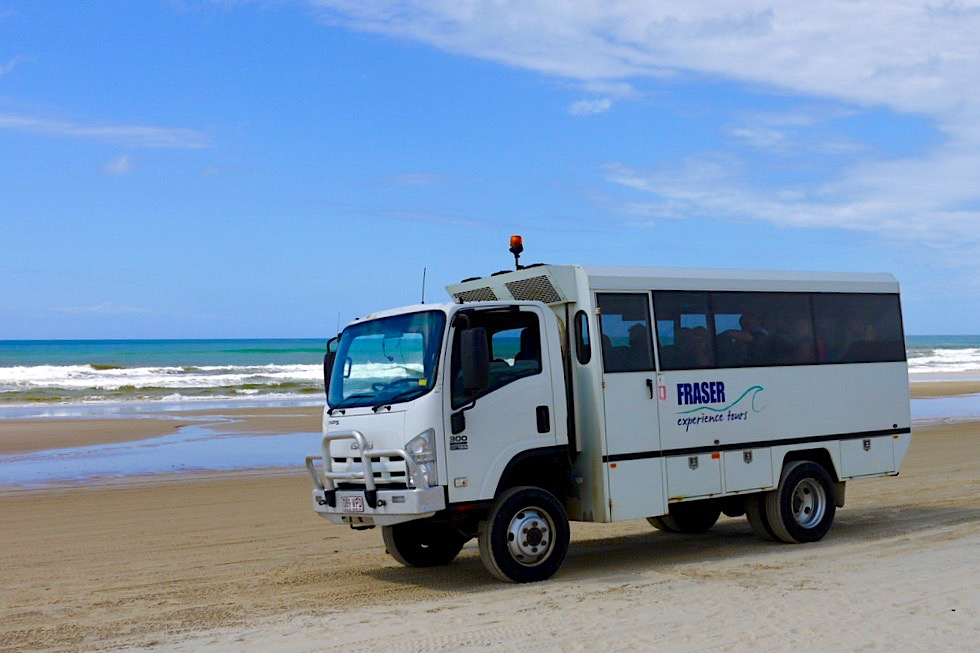 Fraser Experience Tours - Hervey Bay - Queensland