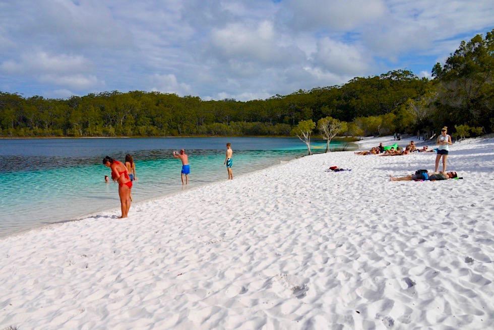Fraser Island - Lake McKenzie: Blaue Oase & Idyll - Queensland