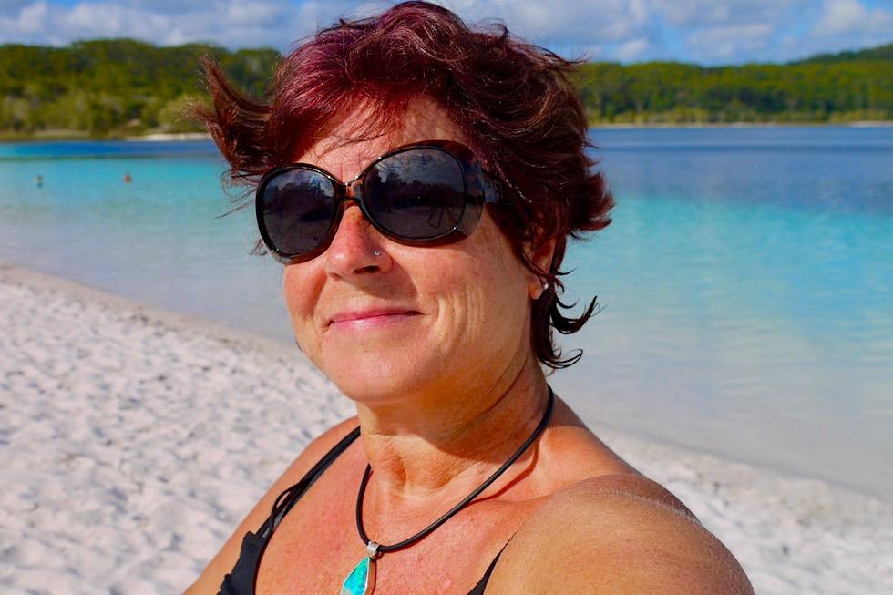 Fraser Island - Lake McKenzie Selfi - Queensland