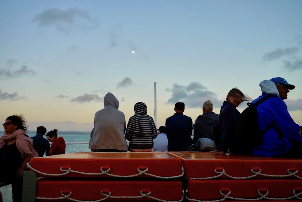 Fraser Island: Rückfahrt mit der Fähre nach Hervey Bay - Queensland