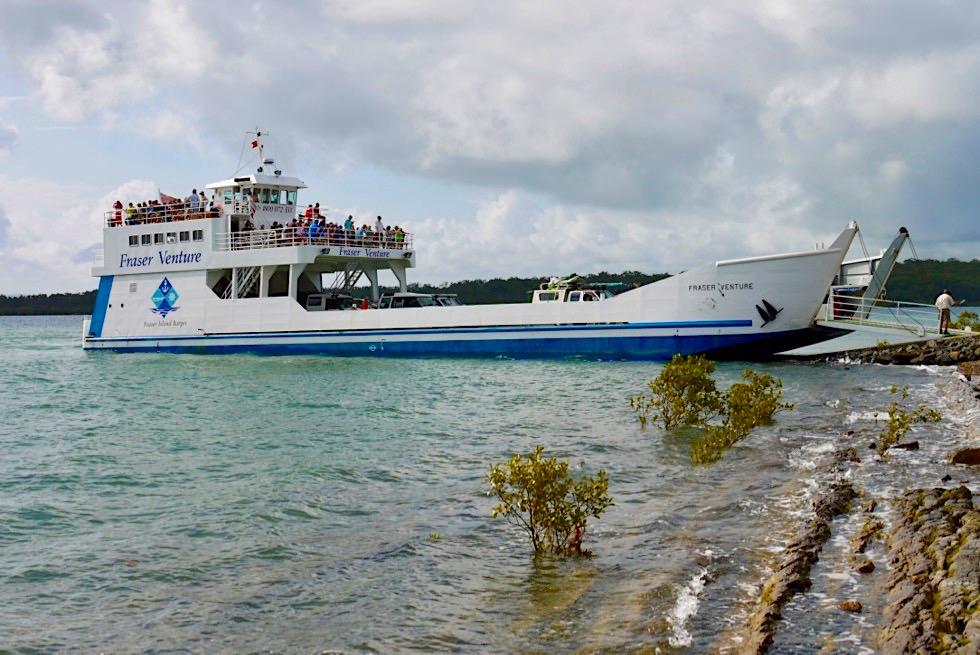Fraser Venture - Fähre von Hervey Bay nach Fraser Island - Queensland