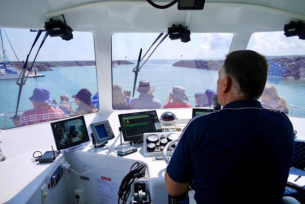 Freedom III & Captain Keith - Walbeobachtung in Hervey Bay - Queensland