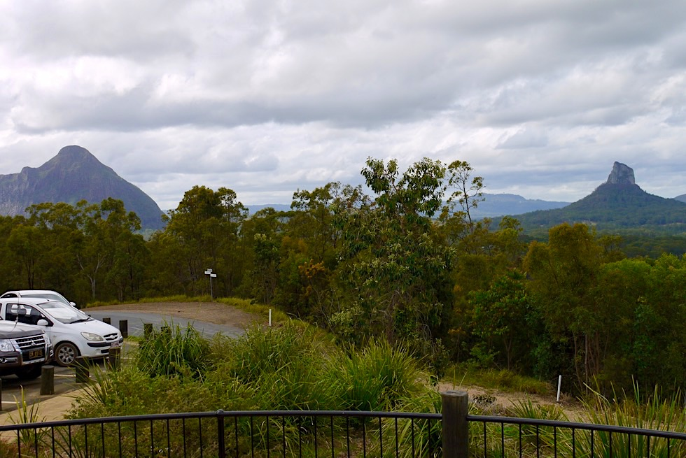 Glass House Mountains - Lookout - Sunshine Coast - Queensland