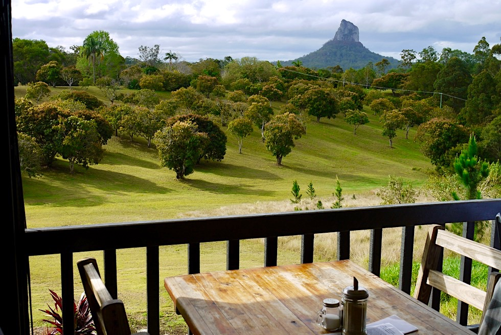 Glass House Mountains Lookout Café - Lecker & grandioser Ausblick - Sunshine Coast Hinterland - Queensland