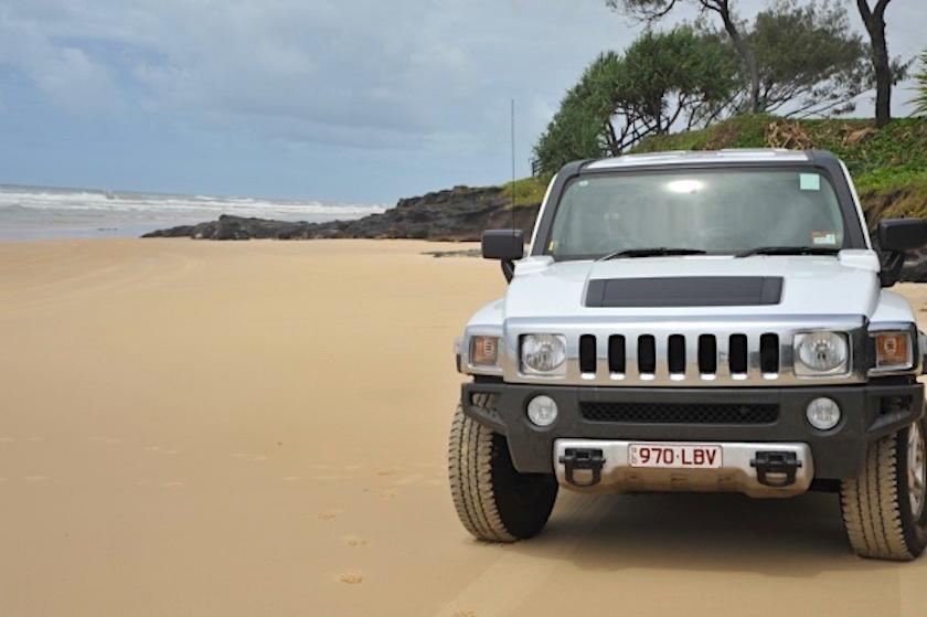 Hummer Allrad Luxus Fraser Island Tour - Fraser Experience Tours - Hervey Bay - Queensland
