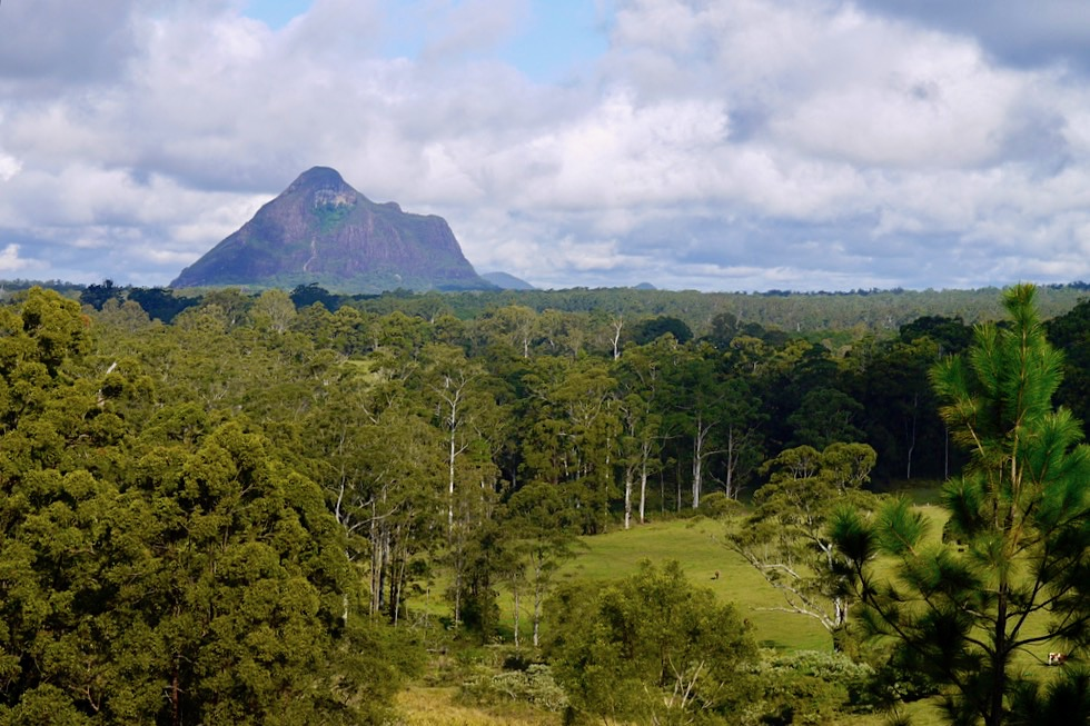 Mt Beewah: Mutter der Berge für die Aboriginals - Glasshouse Mountains - Sunshine Coast - Queensland