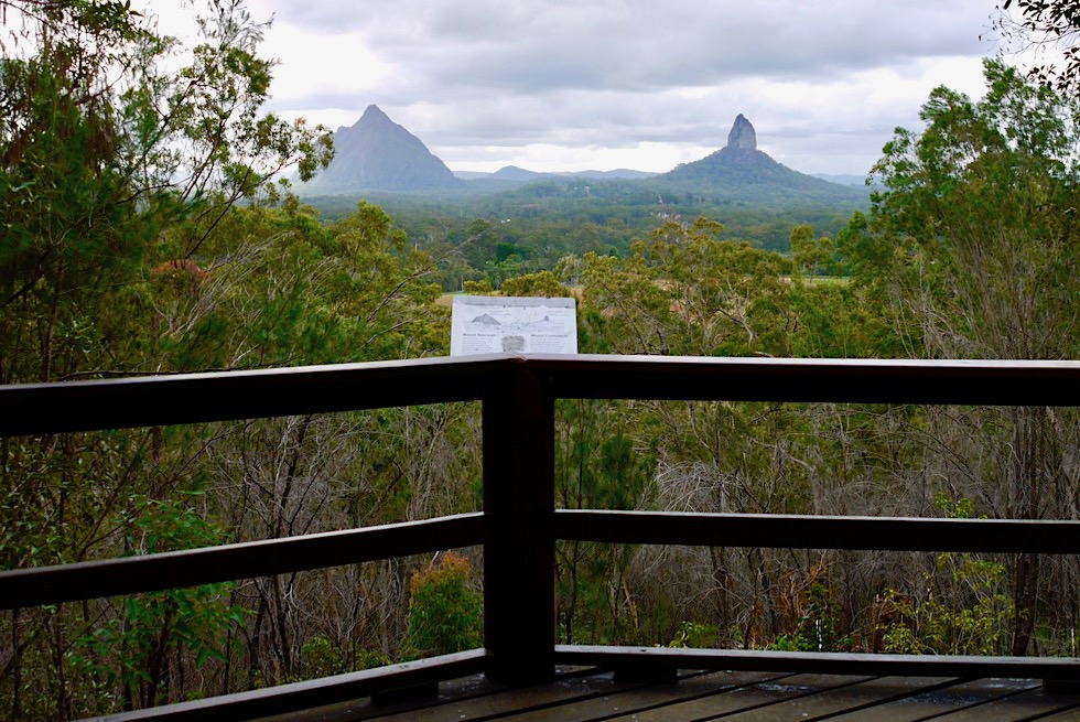 Mt Tibrogaran - Mountain View Lookout - Glasshouse Mountains National Park - Queensland