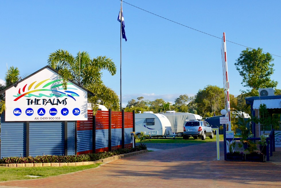 The Palms - Caravan Park Empfehlung in Hervey Bay - Queensland