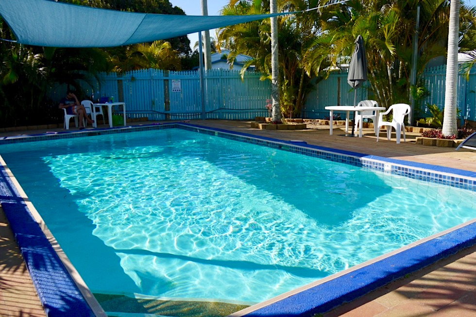 The Palms Caravan Park - Poolbereich - Hervey Bay - Queensland