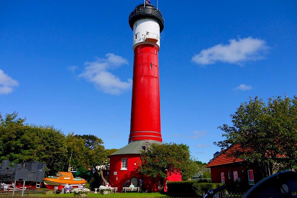 Wangerooge - Alter Leuchtturm & Museum - Ostfriesische Inseln - Nordsee