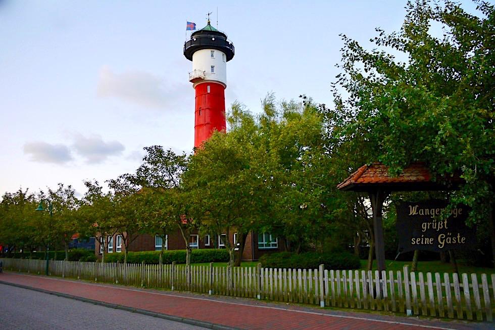Wangerooge - Alter Leuchtturm im Ort - Ostfriesische Inseln - Nordsee
