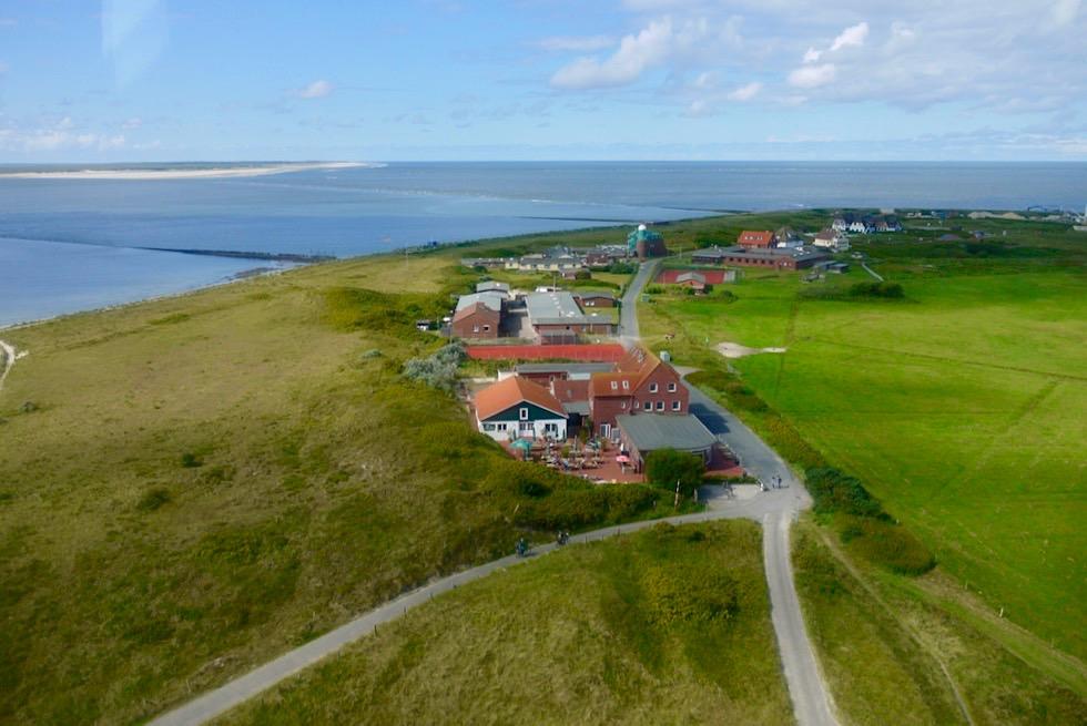 Wangerooge - Ausblick vom Westturm nach Nordwesten - Ostfriesische Inseln - Nordsee