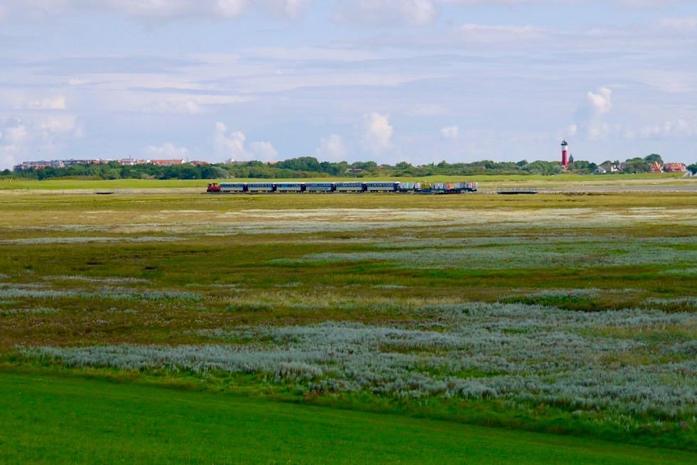 Wangerooge erleben - Mit der Inselbahn durch den Westaußengroden - Ostfriesische Inseln - Nationalpark Wattenmeer & Nordsee