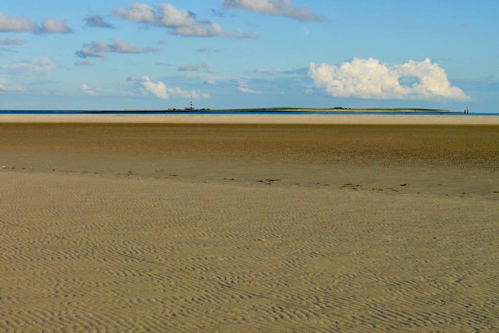 Wangerooge - Das Ost-Ende: Blick auf Minsener Oog - Ostfriesische Inseln - Nordsee