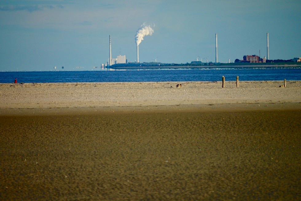 Wangerooge - Ostende der Insel & Blick auf Wilhelmshaven - Ostfriesische Inseln - Nordsee & Wattenmeer