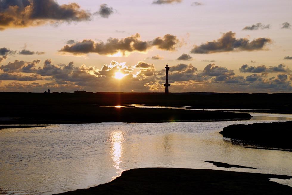 Wangerooge - Faszinierender Sonnenuntergang am Neuen Leuchtturm - Ostfriesische Inseln & Nordsee