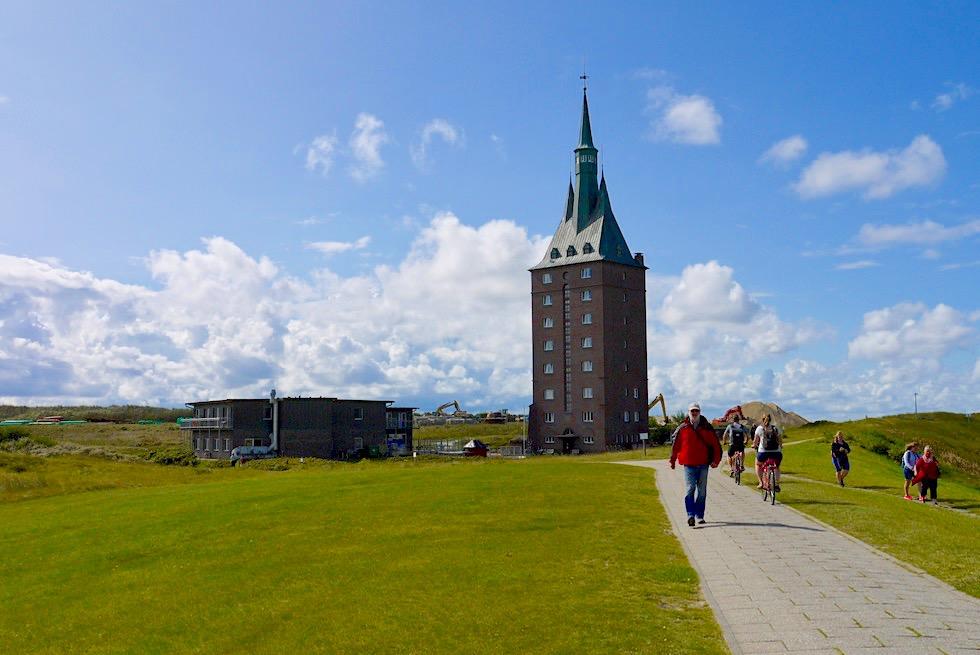 Wangerooge - Das Insel-Wahrzeichen ist der Westturm, heute auch eine Jugendherberge - Ostfriesische Inseln - Nordsee
