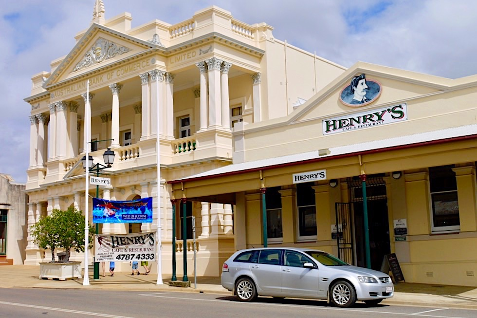 Charters Towers - Australian Bank of Commerce: wunderschönes historisches Baudenkmal - Queensland