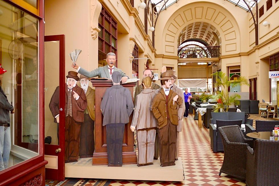 Charters Towers - Stock Exchange Display: erzählt von Börse & goldenen Zeiten - Queensland