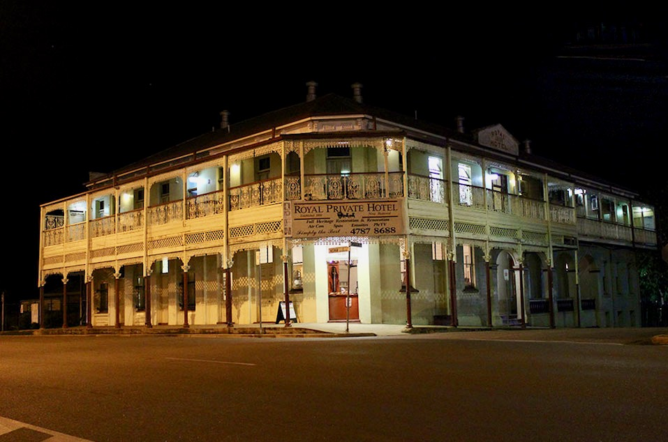 Ghost of the Gold: Nächtliche Stadtführung in Charters Towers - Queensland