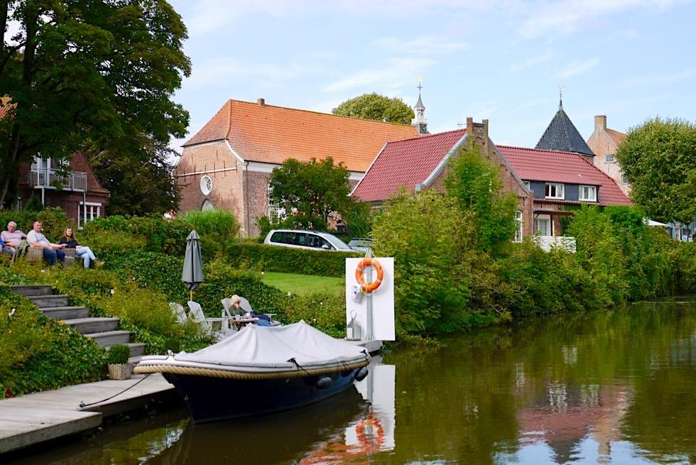 Greetsiel - Grandiose Bootsfahrt auf den Kanälen des Fischerdorfes - Krummhörn - Ostfriesland